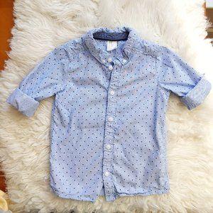 💖 H&M Boy Button down shirt